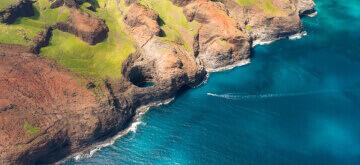 Kauai small business landmark Na Pali coast